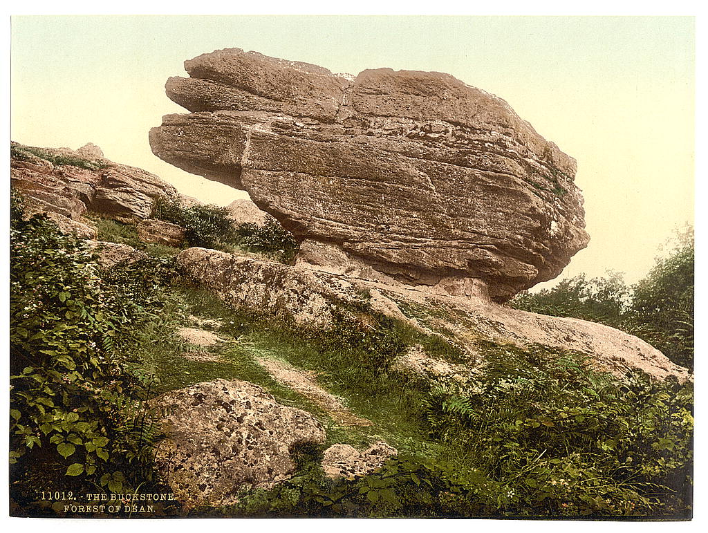 [The Buckstone, Forest of Dean, England]  (LOC)