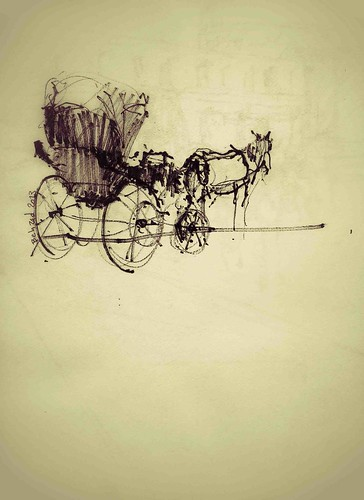 The Horses by Behzad Bagheri Sketches
