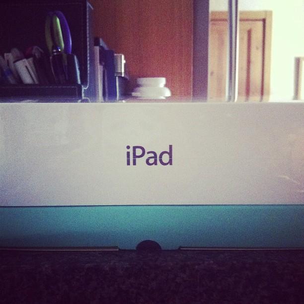 Det här med att mina föräldrar precis överraskade mig med en iPad?!!!! #chockad