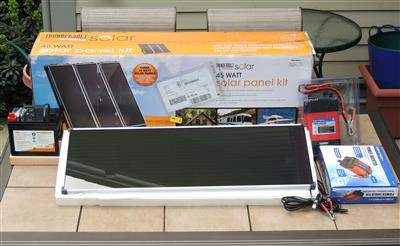 Harbor Freight Solar System