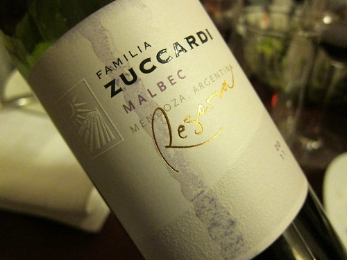 2011 Zuccardi Malbec Reserva