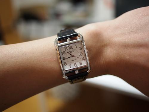 buy popular 4d4ed 8f288 人気完売 エルメス 時計 メンズ クリッパークロノ、エルメス ...