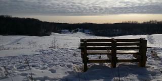 Somewhere to sit a bit.