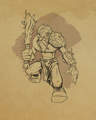 Godsrule: War of Mortals - Marauder concept art