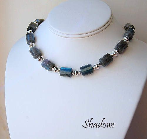 Shadows Necklace by gemwaithnia