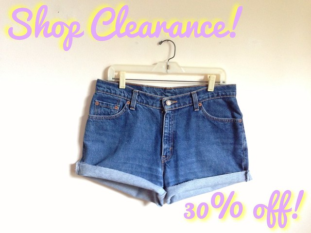 Etsy Shop Clearance Sale • 30% Off!