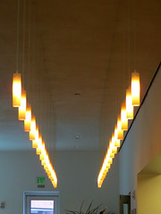 Cafe Lights at Nerman Museum of Contemporary Art