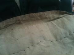 Fixing kirtle skirt