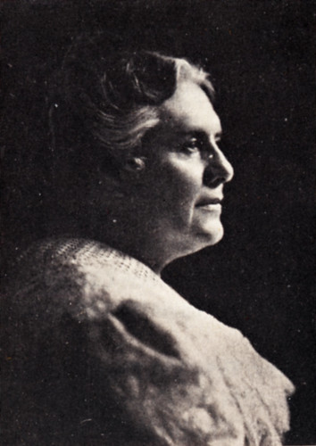 A portrait of Anna Botsford Comstock - a leader in nature studies and the first female professor at Cornell.