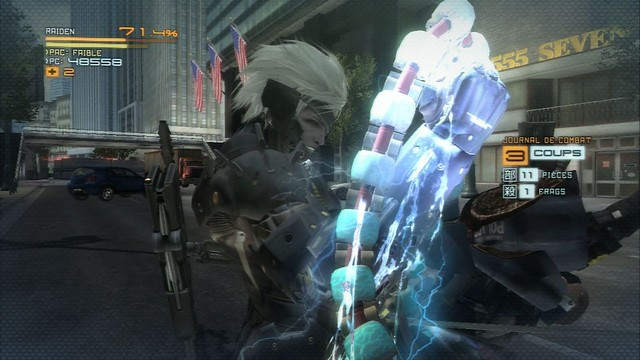 Metal Gear Rising : Revengeance - Screenshot 1