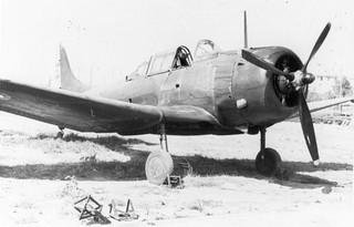 Douglas A-24B, 42-54691, French AF, Algeria, 1952