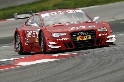 Miguel Molina Test DTM Circuit Catalunya 2013