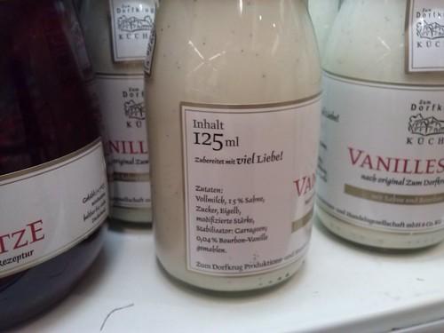 Grusel-Vanille-Sauce