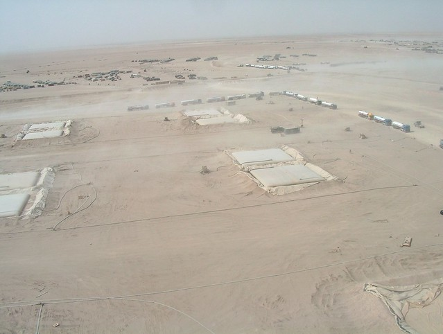 Helicopter Picture from Southern Iraq