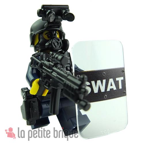 Lego SWAT by LaPetiteBrique.com