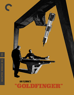 GOLDFINGER Criterion Collection Blu-ray