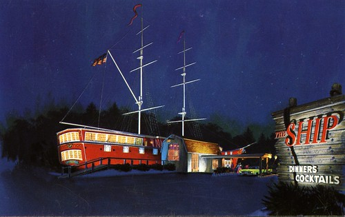 The Ship Restaurant, Lynnfield, Massachusetts
