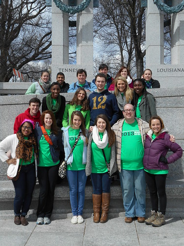 our team at the WWII memorial (1)
