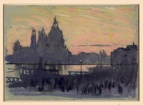 004-Luna de oro en Venecia-1901-1908- Joseph Pennell-Library of Congress