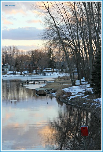 trees houses winter sunset snow color reflection nature water wisconsin clouds canon river explore snowscene waterscene canoneos60d mygearandme mygearandmepremium mygearandmebronze mygearandmesilver mygearandmegold mygearandmeplatinum picmonkey merleearbeen meaimages