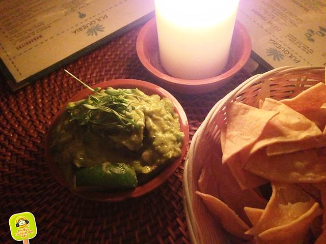PULQUERIA spicy guacamole