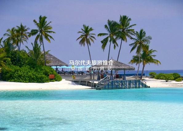 薇莉岛安纳塔拉酒店[Anantara Veli Resort]接待码头