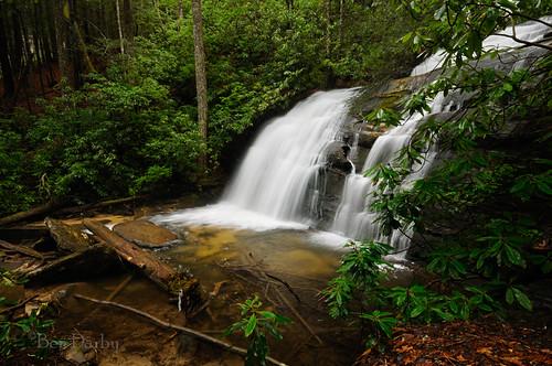 georgia waterfall appalachiantrail threeforks longcreekfalls d300s n1303246703