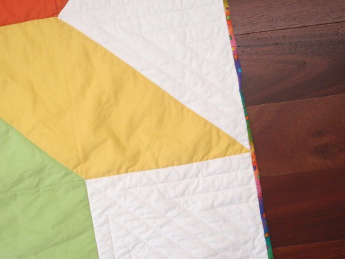 QUILT - Rainbow Star (quilting)