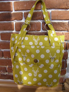"""A Day in the Park Backpack Tote"""