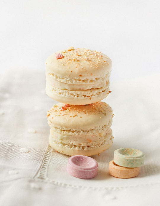 Fruit Tingle (Fizzy Candy) Macarons