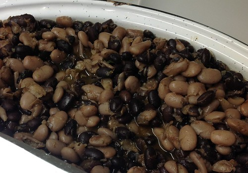 Spiced beans for tacos