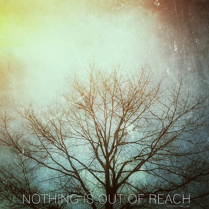 nothing is out of reach - day 97