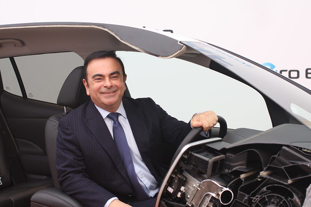 Carlos Ghosn visiting Norway
