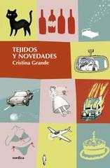 Cristina Grande portada libro Tejidos y Novedades Xórdica Editorial