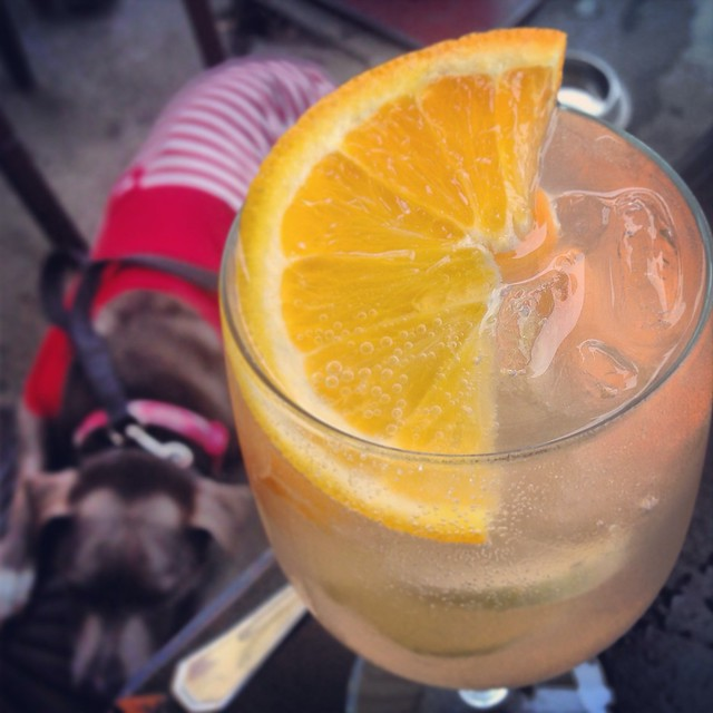 The Pikey brunch cocktail day drinking White Sangria by Caroline on Crack