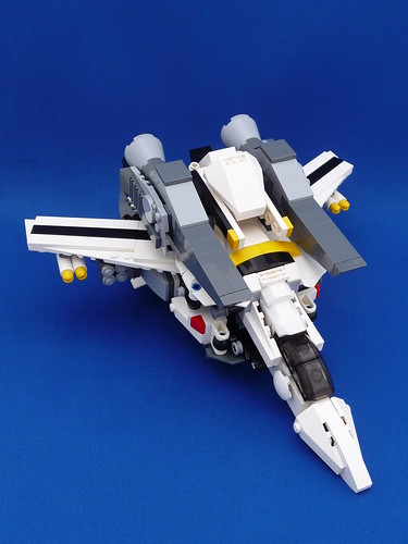 VF-1S Super Valkyrie Skull Leader Fighter Mode