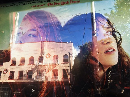Gazing at reflections. @roxietheater