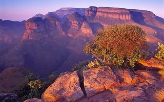 Reserva natural del cañón del río Blyde.