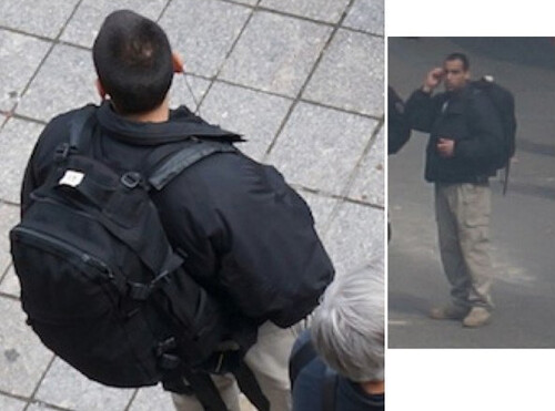 Boston Bombing Suspect from CCTV
