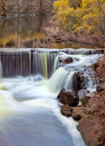 longexposure color water yellow canon river spring connecticut falls slowshutter 5d hydrangea cascade spillway