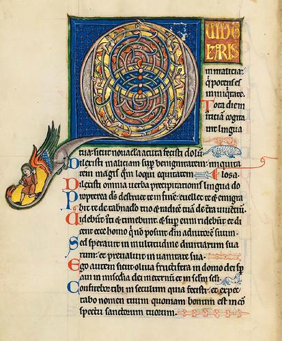 011-Salterio dorado de Múnich-1200-1225 d.C- Biblioteca Estatal de Baviera (BSB)