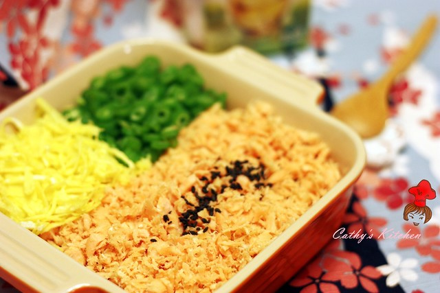 和風鮭魚拌飯 Japanese Salmon Rice 4