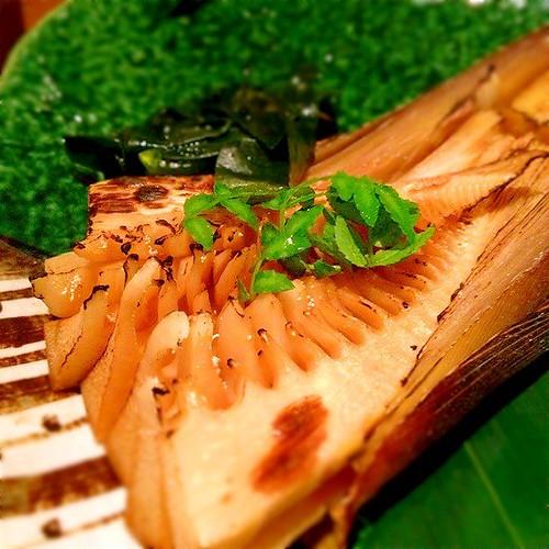 たけのこ。茎とか根とか、割と好き。 at KOiBUMi http://bit.ly/ZFueEN