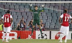 goalkeeper, football player, sport venue, championship, sports, player, football, goal, stadium, athlete, team,