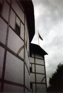 Globe Theatre Outside