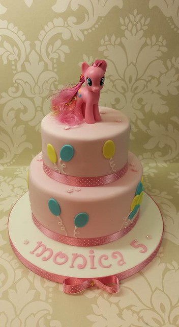 My Little Pony cake by Beverley Fellows @Bake-a-cake
