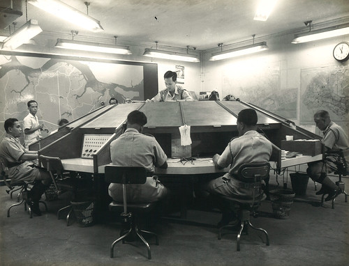 Combined Operations Room in Radio Division