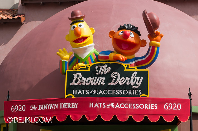 The Brown Derby - now with Bert and Ernie
