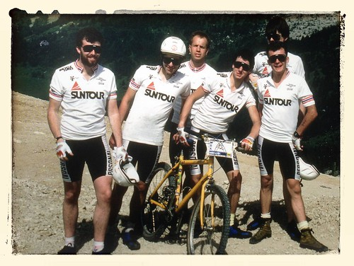 British Mountain Bike Team, 1987