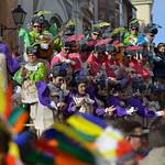 Ambiente y carroza en el carnaval de cádiz